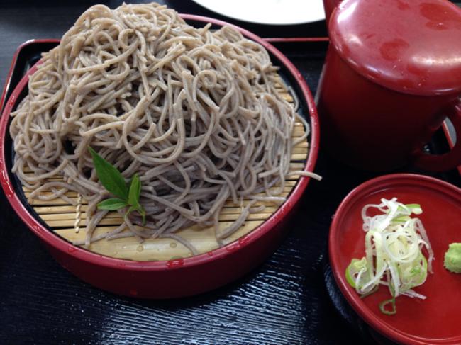 十割蕎麦(阿南温泉かじか亭)