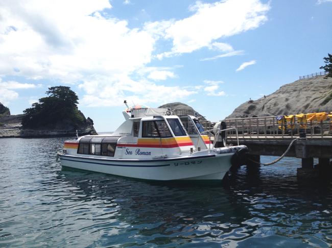 堂ヶ島 洞窟巡り遊覧船 4
