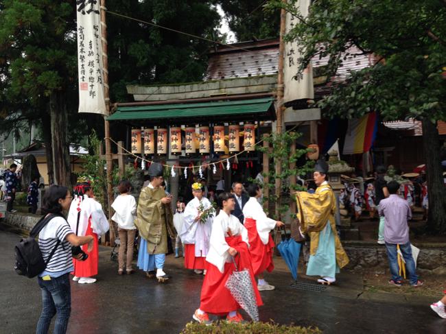 宇津江 熊野神社 祭禮 1
