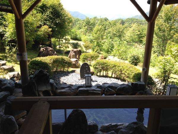 木曽駒高原ホテル 露天風呂 3