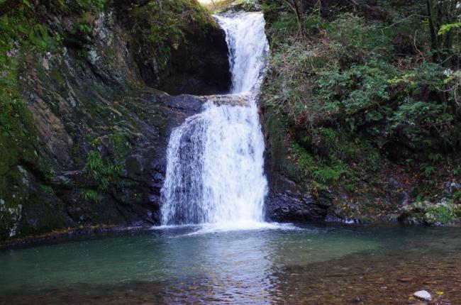 横谷峡 二見滝