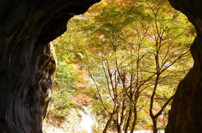 横谷峡 洞門
