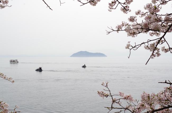 海津大崎 竹生島 1