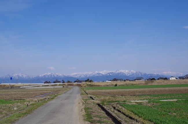 白山連峰 1