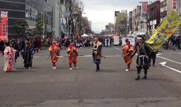 道三祭り パレード 3