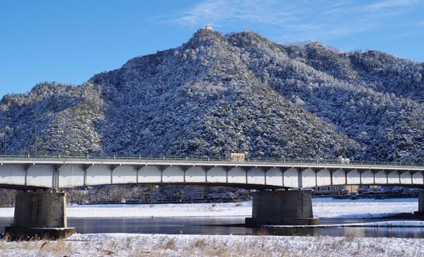 金華山 長良橋