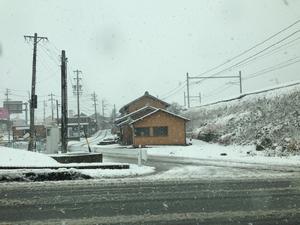 関ヶ原町 雪 Dec 17