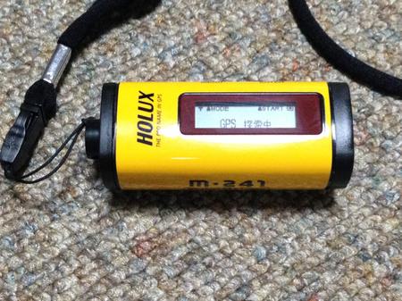 GPSロガー(HOLUX m-241)