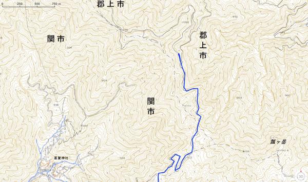 H29.03.26 中美濃林道トライ 2