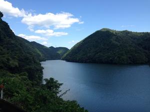 r418 01 丸山ダム湖