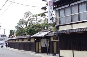 中山道大井宿 いち川 1