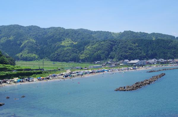 五幡海水浴場(敦賀市)