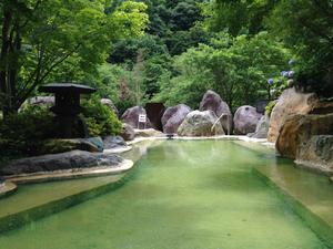 奥飛騨 露天風呂 1
