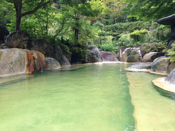 奥飛騨 露天風呂 2