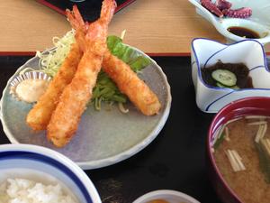 師崎 はま美 4 えびフライ定食