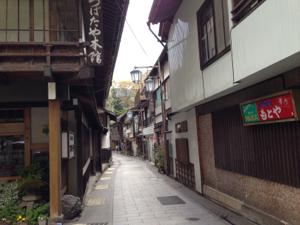 渋温泉 1