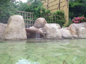 湯の山グリーンホテル 露天風呂