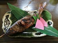 蕎麦正 岩魚甘露煮