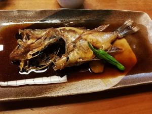 車寿司 鮴 煮付