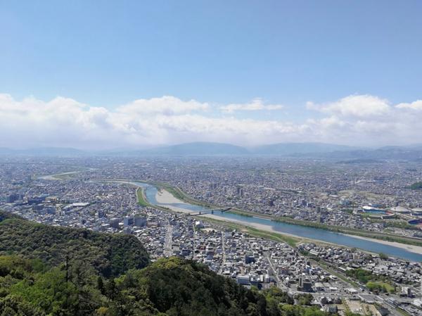 金華山 長良川 2