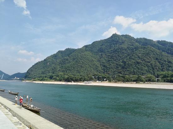 長良川 金華山