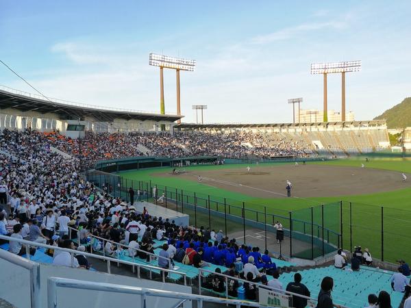 長良川球場 早慶戦