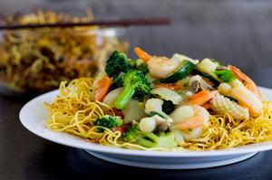 hong kong crispy noodles